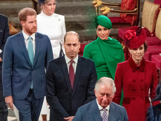 Враждующие принцы Уильям и Гарри временно помирились