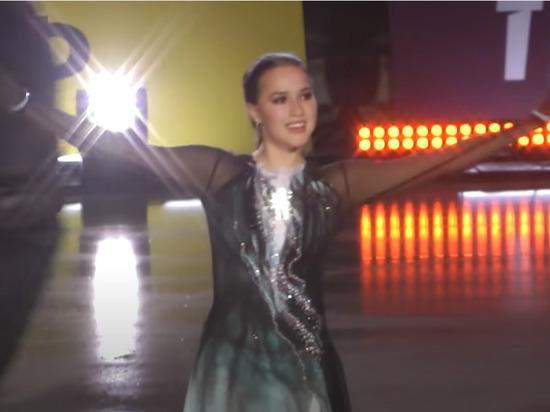 Загитова зажгла: фигуристка стала хедлайнером шоу Тутберидзе (видео)