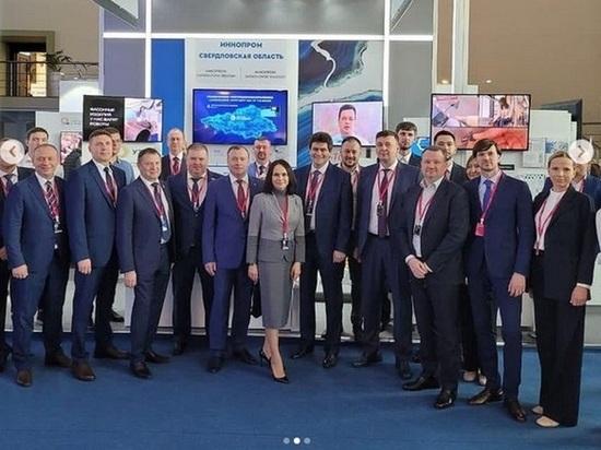 На Иннопроме в Ташкенте стенд Свердловской области посетило более 5 тысяч человек