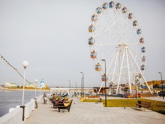 Красную площадь в Чебоксарах готовят к весеннему обновлению