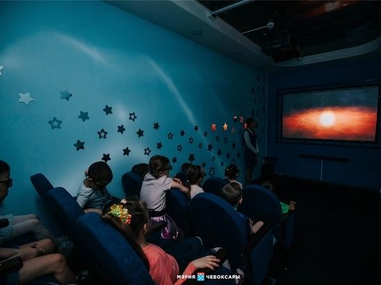 В чебоксарском детском саду открылся первый 3D-кинотеатр