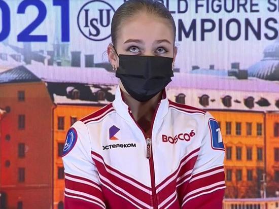 Трусова: На ЧМ поняла, что так и не научилась настраиваться на прокат