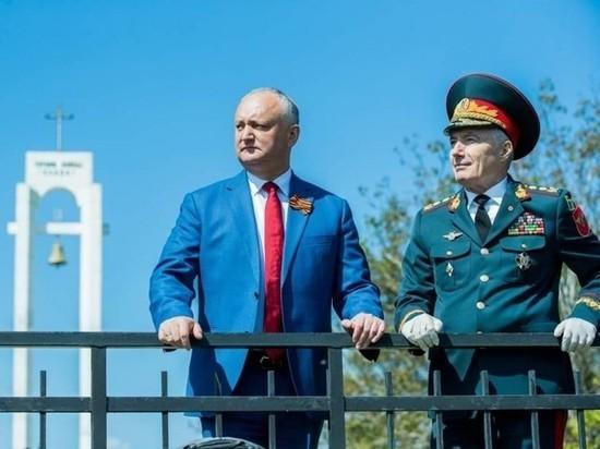 Игорь Додон: В Молдове 9 мая никто не отменит