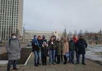 Участники экологического протеста отметили вторую годовщину крупной акции в Архангельске