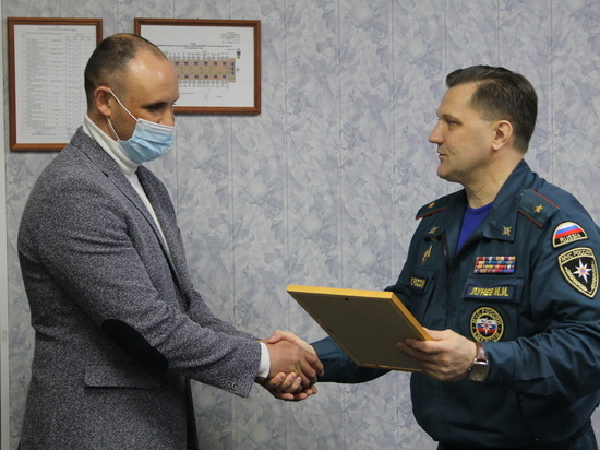 Курские спасатели получили государственные жилищные сертификаты