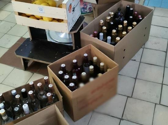 Более 300 бутылок алкоголя изъяли в Кстовском районе