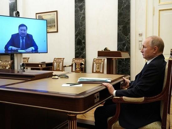 Врио главы Тувы назвал Владимиру Путину главные проблемы республики