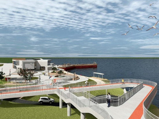 Глава Колымы показал, как будет выглядеть новый парк «Маяк»