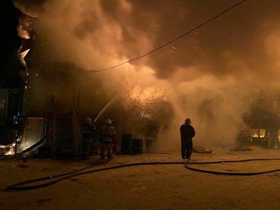 Глава Якутии распорядился оказать помощь пострадавшим при пожаре в Хангаласском улусе