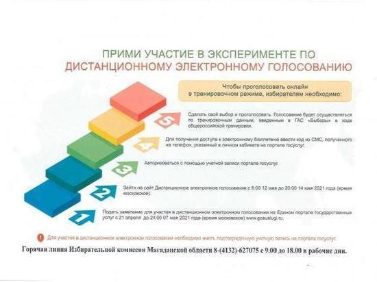 Тестирование интернет-голосования для выборов в Госдуму пройдёт на Колыме