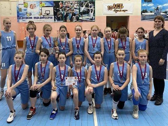 Костромские юниорки-баскетболистки взяли «серебро» в «Глобальной Лиге Kids»