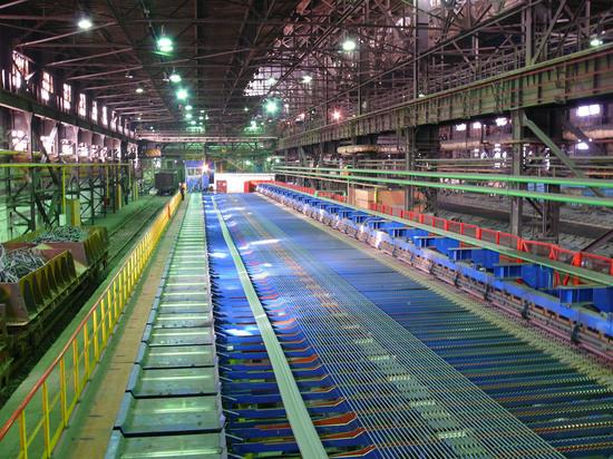 ЧМК открыл новую линию по производству арматуры
