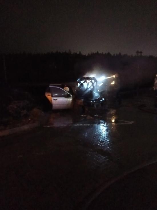 Ночью в Твери сгорел ещё один автомобиль