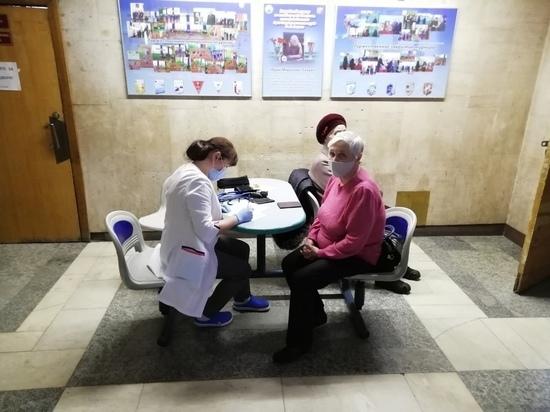 В мобильных прививочных пунктах Йошкар-Олы побывали 1098 человек