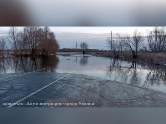 Из-за паводка в Рязани сократили маршруты автобусов №11 и №10