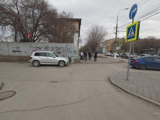 Женщина-водитель сбила 14-летнего велосипедиста в Волгограде