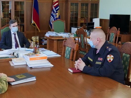 В Ивановской области — новый начальник Росгвардии