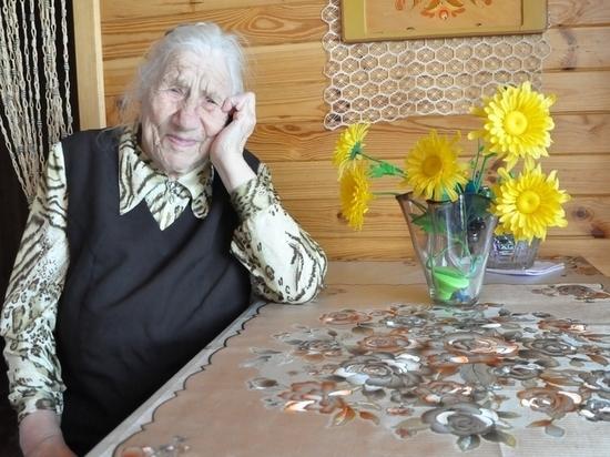 Рязанка Мария Богомолова отметила 100-летний юбилей