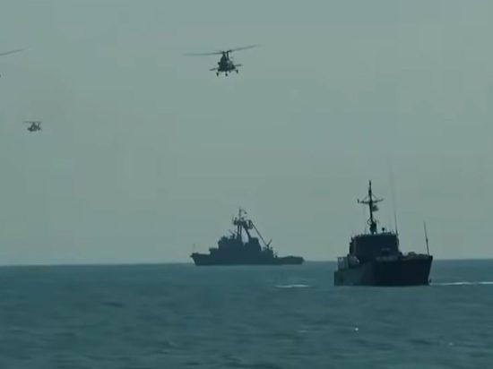 Россия перебросила десантные корабли Каспийской флотилии в Черное море