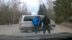 Разборки ритуальщиков Пскова со стрельбой попали на видео