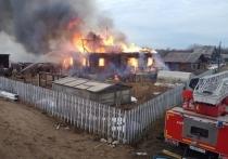 В Красноборском районе семья осталась без крыши над головой в результате пожара