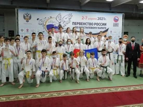 Ивановские каратисты привезли целый ряд медалей с соревнований Орле