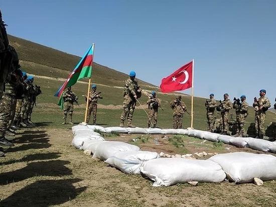 Названа цель военных учений Азербайджана и Турции