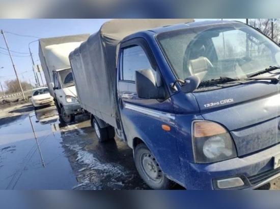 У рязанца арестовали грузовик из-за крупных долгов по налогам