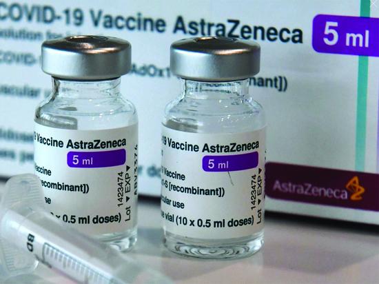 Германия: AstraZeneca не справляется с обещанными поставками вакцины