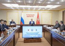 Алексей Дюмин встретился с руководством Союза машиностроителей Тульской области
