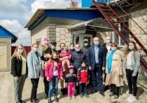 Додон: Нам удалось воплотить в жизнь мечту детей о собственном доме