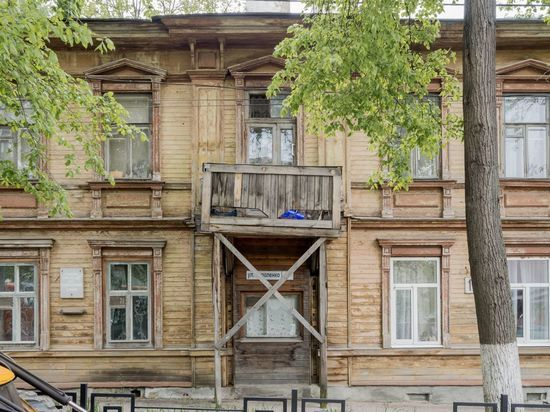 В Нижнем Новгороде восстановят балкон дома, где жил Горький