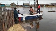 В посёлке Залари поднялся уровень реки Заларинка