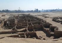 Археологами найден «затерянный золотой город» Древнего Египта
