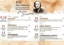 В Марий Эл открывается XIX фестиваль балета в честь Галины Улановой