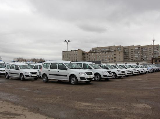 Тамбовской полиции передали более 40 машин