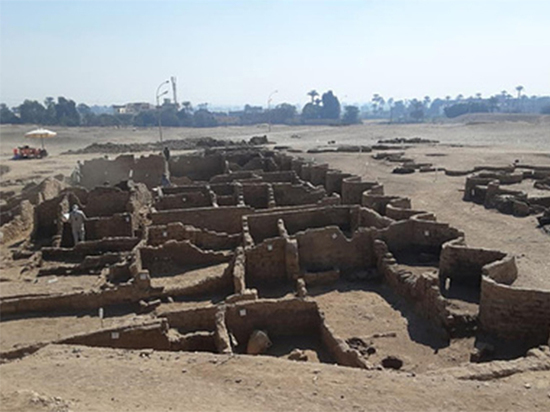 Удивительная находка: в Египте обнаружен «затерянный золотой город»