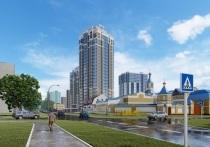 В Барнауле начали строить небоскреб с 7-комнатными квартирами