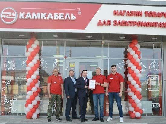 Сеть фирменных магазинов «Камкабель» расширяется