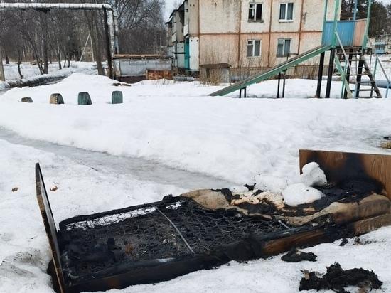 В Ивановской области сын спас отца из пожара