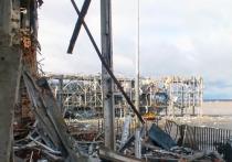 Вблизи Донецкого аэропорта начали строить оборонительные позиции