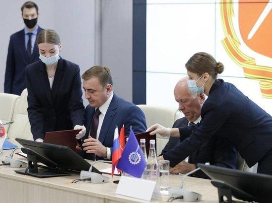 Сергей Чемезов посетил с рабочим визитом Тульскую область