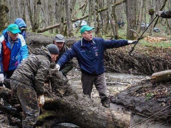 В Ставрополе очистили от мусора берега рек и заказники
