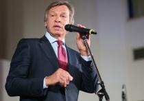 Пушков заявил о поднятии Киевом ставок вокруг Донбасса