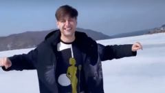 Экс-возлюбленный Ольги Бузовой прогулялся по льду Байкала