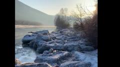 Алтайская река Ануй вышла из берегов и топит села