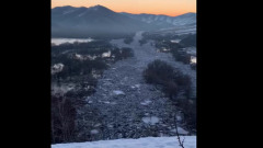 Ледяной затор отрезал алтайские деревни от цивилизации