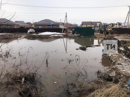 В Татарстане за сутки отвели воду с 79 участков