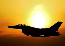 Летчика ВВС США заметили с российской символикой