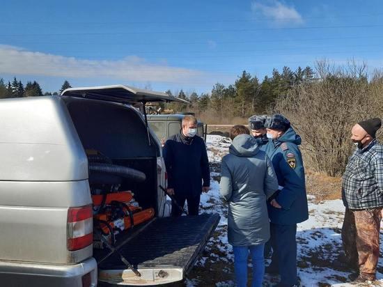 Технику района в Тверской области подготовили к пожароопасному сезону